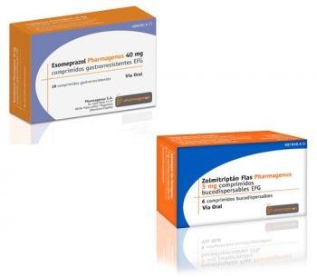 Esomeprazol y Zolmitriptan Flas de Pharmagenus