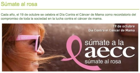 Dia internacional de cancer de mama