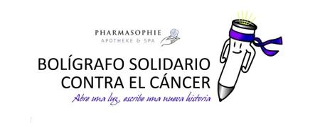 Boligrafo solidario contra el cancer